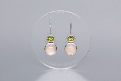 verba-earrings-sensus-veris-rose-quartz-hrizolite